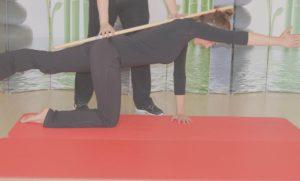 postura de la espalda