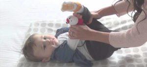 ejercicios de gimnasia para bebes